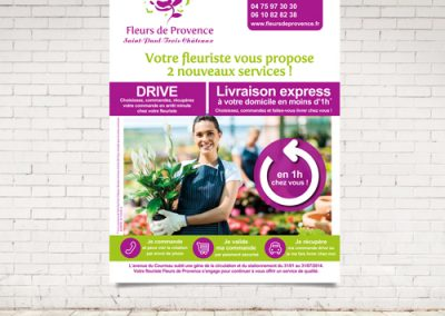burinter-affiche-fleur de provence