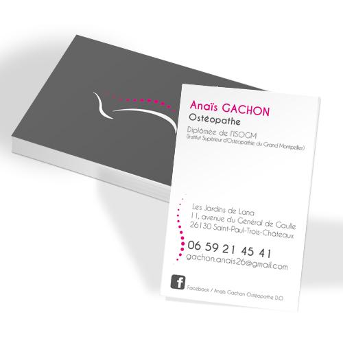 Carte De Visite Pelliculage Soft Touch Creation Graphique Impression Imprimerie