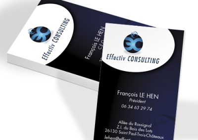 carte de visite-création graphique-pelliculage-soft touch-impression-imprimerie-burinter