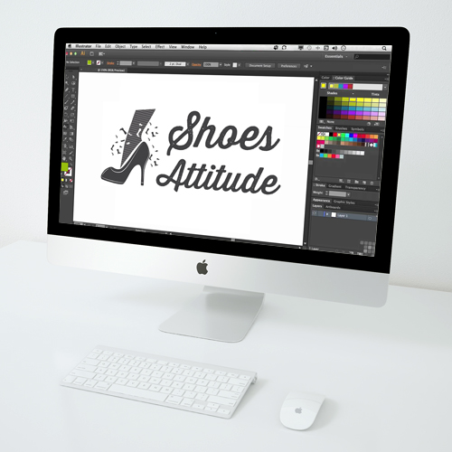 Logo Shoes Attitude