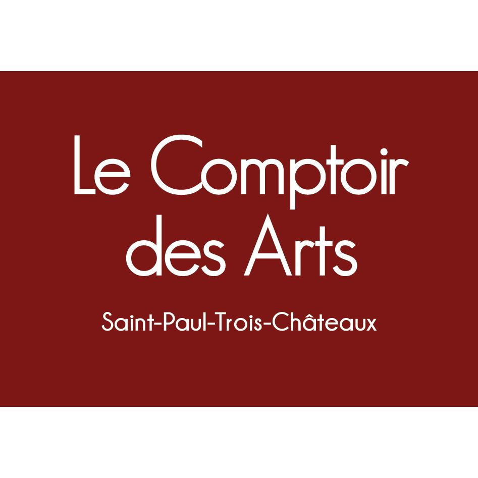 logo-comptoir des arts-imprimerie-burinter-pierrelatte