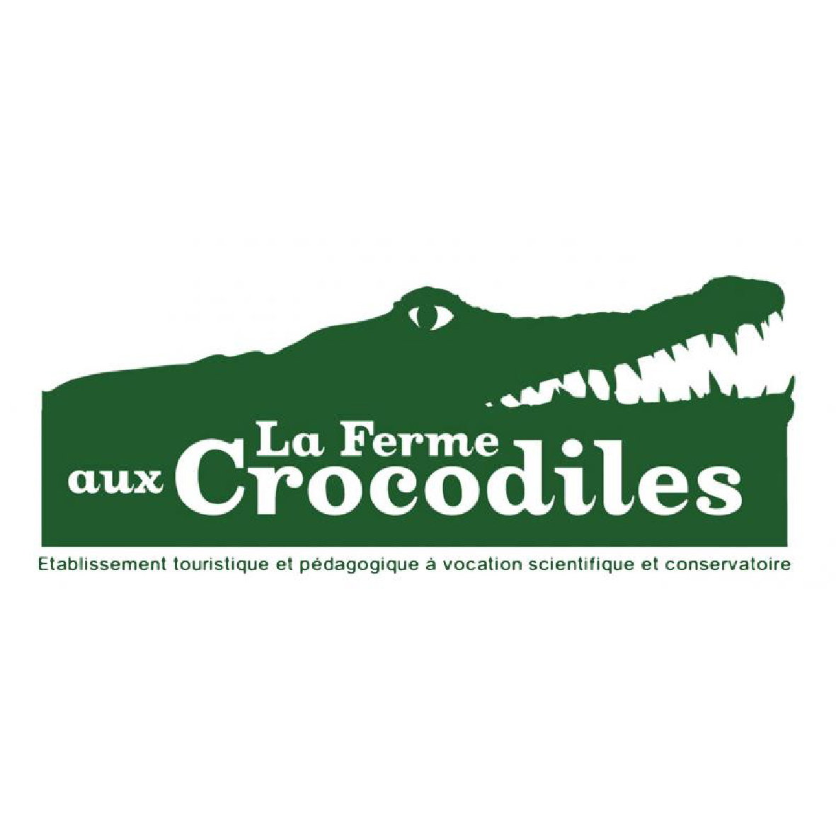 logo-ferme aux crocodiles-imprimerie-burinter-pierrelatte